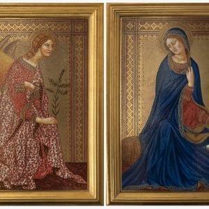 Angelo annunciante Vergine - Claudia Ciotti