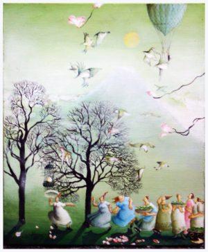 Before the cherry blossom season - Rie Kono