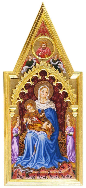 Madonna bambino angeli - Claudia Ciotti