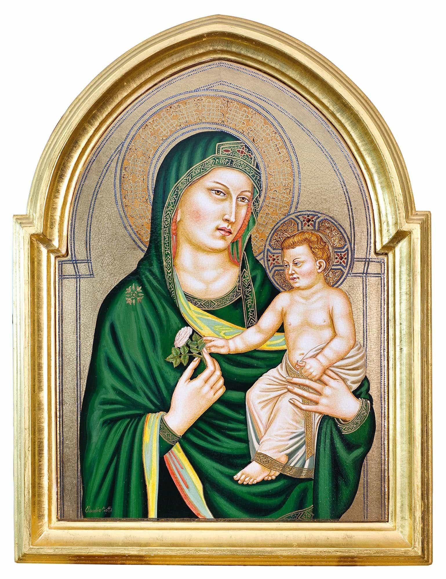Madonna col bambino - Claudia Ciotti