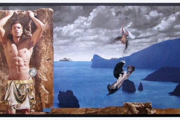 Lo scoglio delle sirene - Ulisse -Walter Capezzali