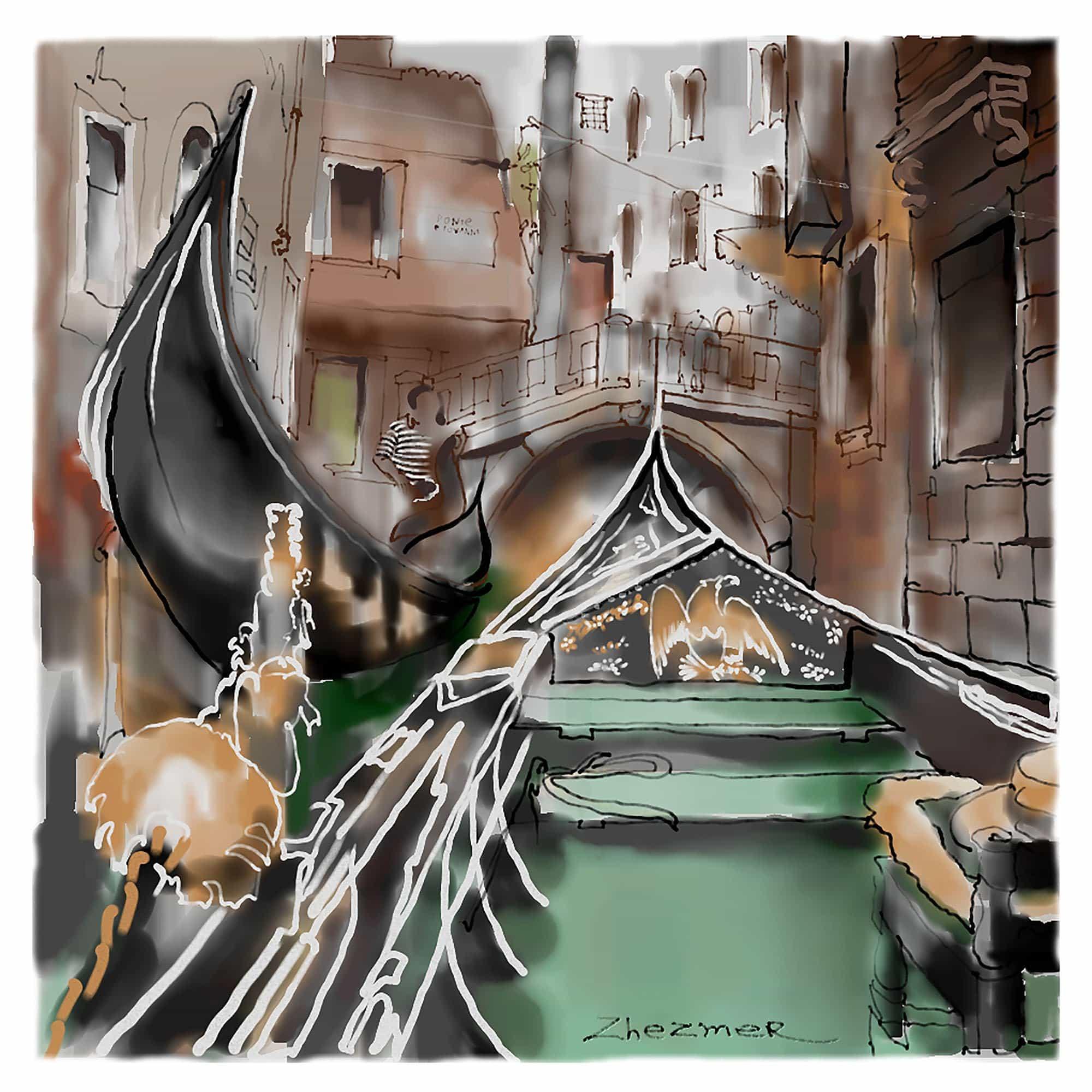 Venice Traffic - Tatiana Zhezmer