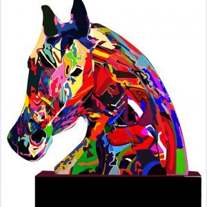 The way we see the horse