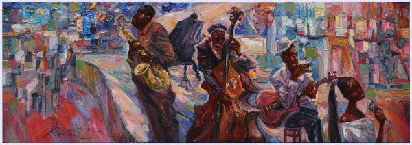 Jazz Club Purpul-Blue