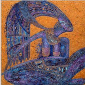 """The spirits of Maya"" triptych"