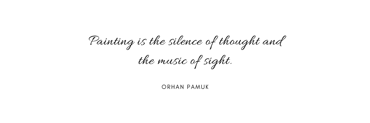 citazioni Orhan Pamuk quadri musica