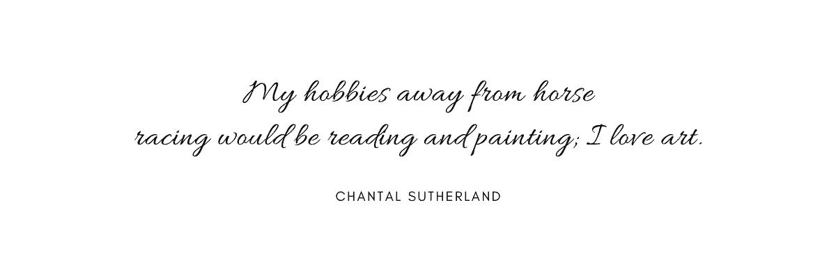 citazioni Chantal Sutherland quadri