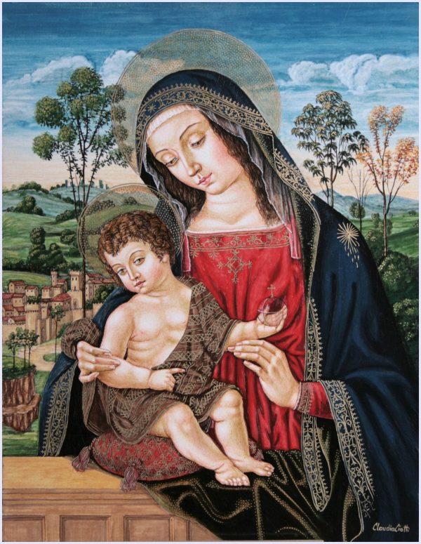 Madonna col Bambino del Pinturicchio