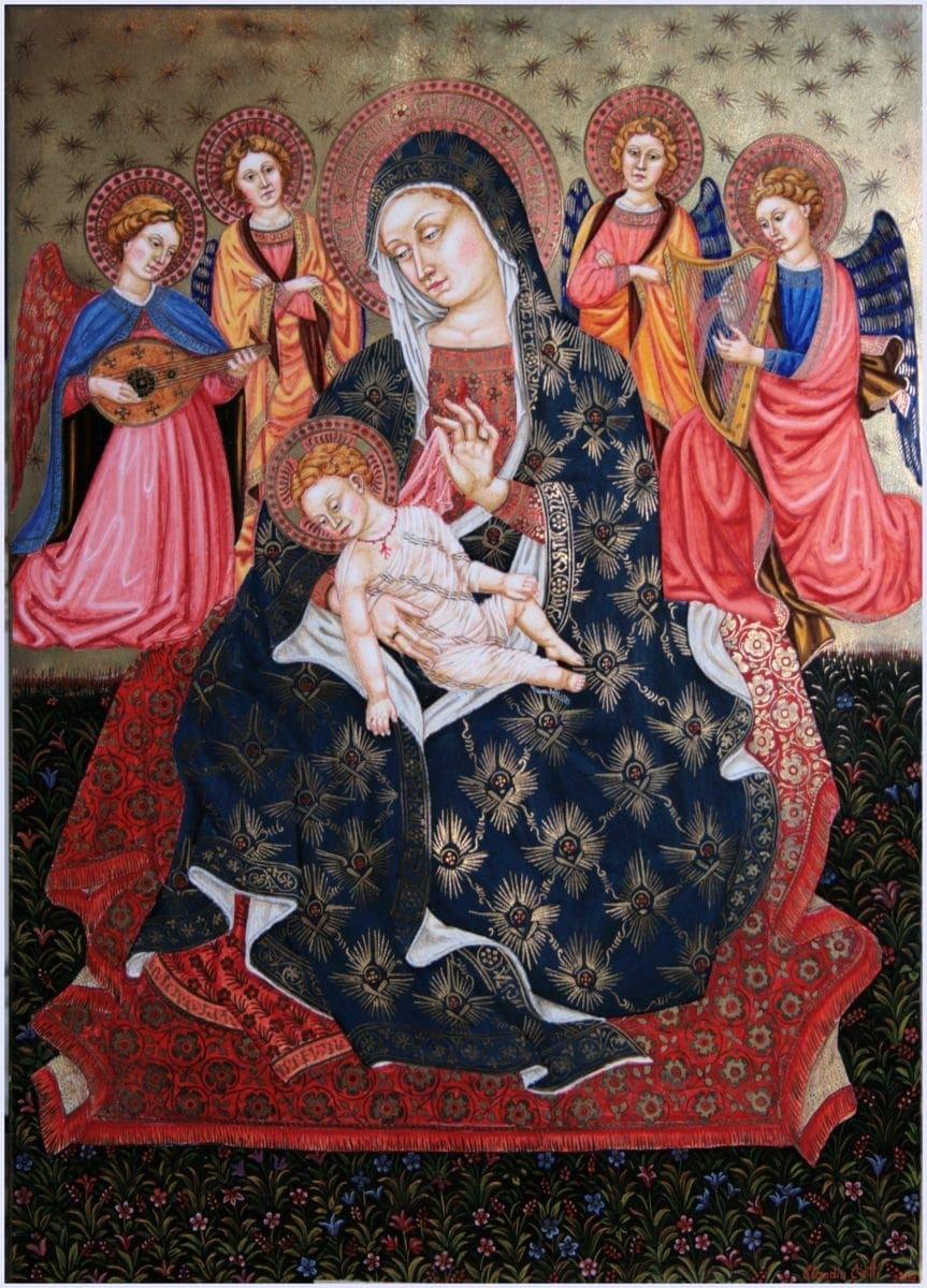 Madonna col Bambino e musicanti