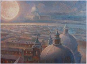 Moon over Rome 001 an