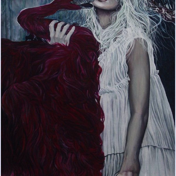 Leda and the red swan